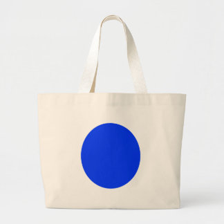 Punto azul bolsa tela grande