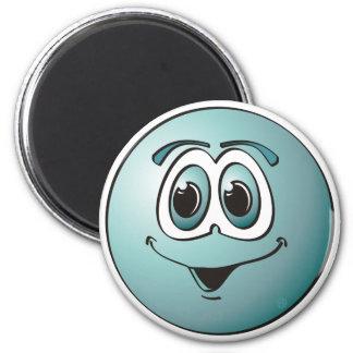 Punto azul imán redondo 5 cm