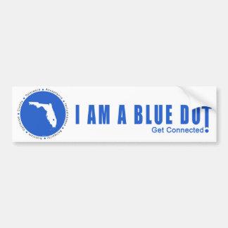 Punto azul la Florida Pegatina Para Auto