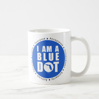 Punto azul la Florida Taza De Café