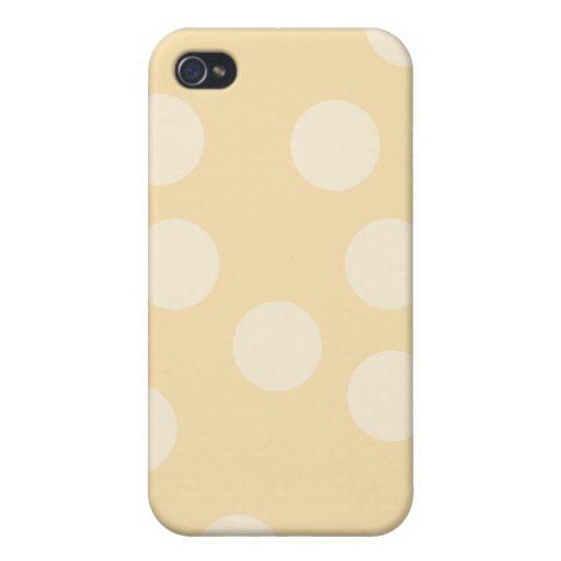 Punto beige Pern. iPhone 4 Coberturas