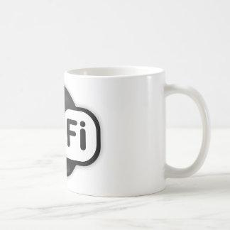 Punto caliente de Wi-Fi Taza De Café