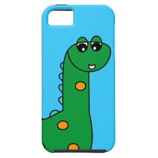 Punto - caso lindo del iPhone 5 del dinosaurio iPhone 5 Fundas