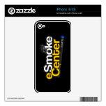 punto com de centro del eSmoke Skins Para eliPhone 4S