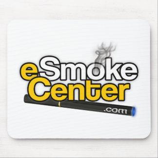 punto com de centro del eSmoke Alfombrilla De Ratones