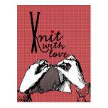 Punto con amor: De motivación creativo Tarjeta Postal