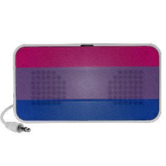 Punto culminante de los colores del orgullo del BI Notebook Altavoz