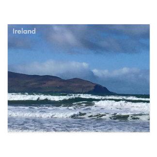 Punto de Brandon, Brandon, Co. Kerry, Irlanda Tarjeta Postal