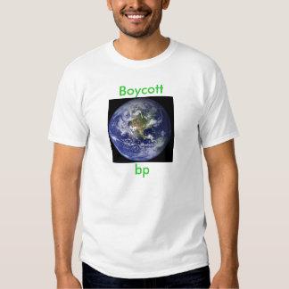 Punto de ebullición del boicoteo camisas