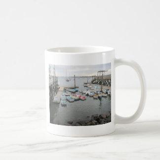 Punto de Kittery de los botes del puerto Taza De Café