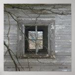 Punto de la corona de la ventana del granero ADENT Impresiones