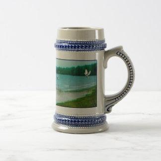 Punto de la diosa jarra de cerveza
