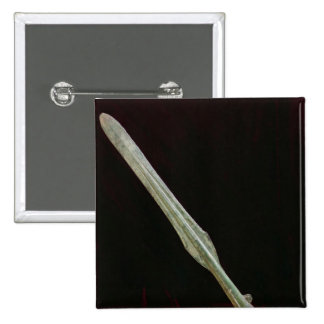 Punto de la lanza, período de Yayoi, 200 BC-AD 100 Pin Cuadrado