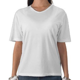 Punto de la lila del Ronroneo-fection siamés Camiseta