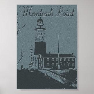 Punto de Montauk Poster