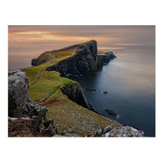 Punto de Neist, isla de Skye, Escocia Tarjetas Postales