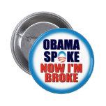 Punto de Obama - ahora estoy me rompí Pin