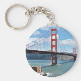 Punto de puente Golden Gate y del fuerte en San Fr Llaveros