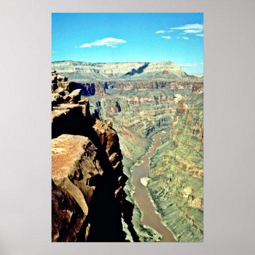 Punto de Toroweap - el río Colorado Póster