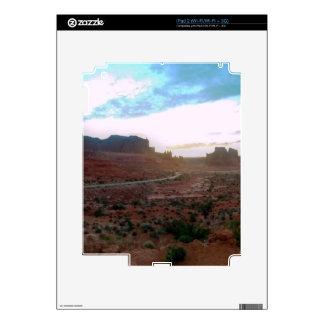 Punto de vista del parque nacional de los arcos calcomanía para iPad 2