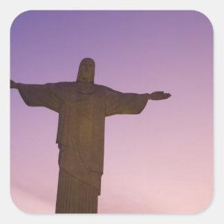 Punto de vista, estatua de Cristo en Corcovado, Colcomanias Cuadradass
