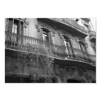 """Punto de Vista Invitation (Barcelona, Spain) 5"""" X 7"""" Invitation Card"""