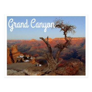 Punto de Yaki, postal de Arizona del Gran Cañón