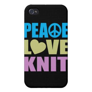 Punto del amor de la paz iPhone 4 cobertura