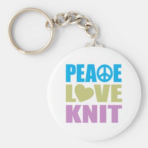 Punto del amor de la paz llavero redondo tipo pin
