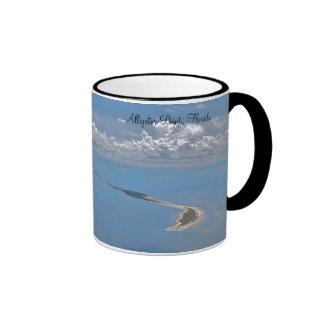 Punto del cocodrilo, taza de café de la Florida