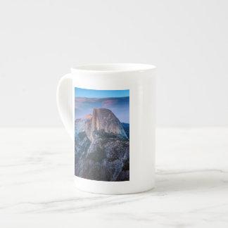 Punto del glaciar taza de porcelana