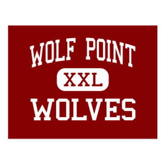 Punto del lobo - lobos - alto - punto Montana del Tarjetas Postales