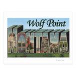 Punto del lobo, Montana Postales