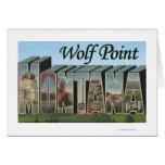 Punto del lobo, Montana Tarjetas