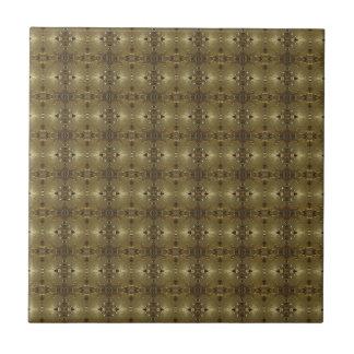 Punto del oro pequeño azulejos ceramicos