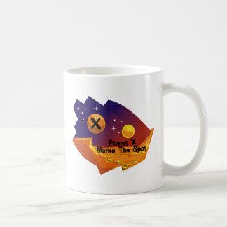 Punto del planeta X Taza De Café