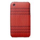 Punto del rojo iPhone 3 carcasas