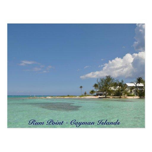 Punto del ron - Islas Caimán Postales
