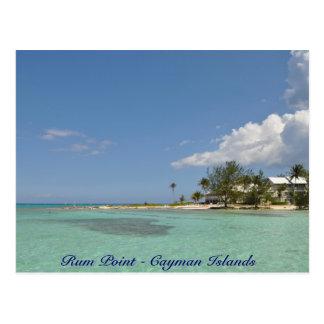 Punto del ron - Islas Caimán Tarjetas Postales