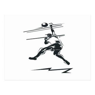 Punto del voleibol postal