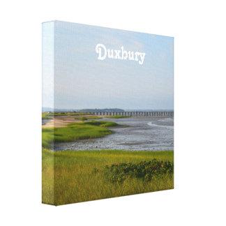 Punto Duxbury del polvo Impresión En Lienzo