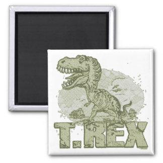 Punto grande de T Rex Iman De Frigorífico