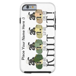 punto lindo de las ovejas del caso del iPhone 6 él Funda De iPhone 6 Tough