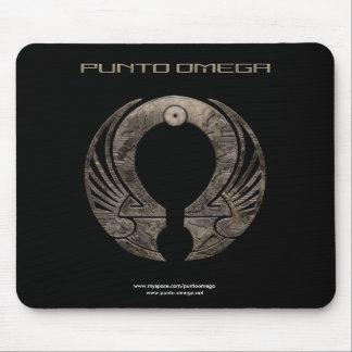Punto Omega - logotipo Mousepad