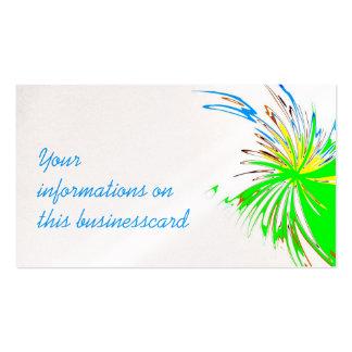 punto oops, tarjeta de visita del artista
