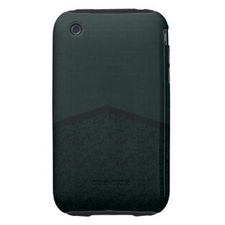 punto oscuro de la textura del trullo tough iPhone 3 cárcasas