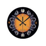 punto solar reloj