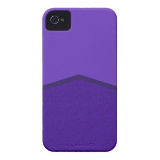 Punto texturizado púrpura iPhone 4 cárcasa