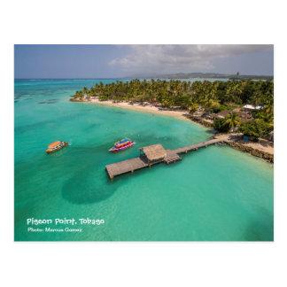 Punto Trinidad y Tobago de la paloma con los Postal