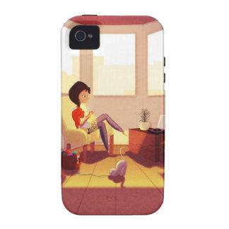 Punto uno puntilla dos Case-Mate iPhone 4 carcasas